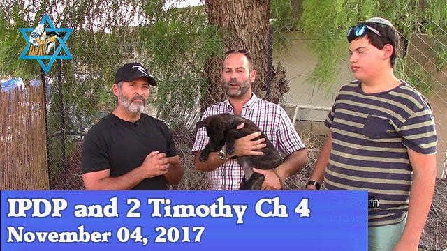 11-4-17 IPDP and 2 Timothy Ch 4-02